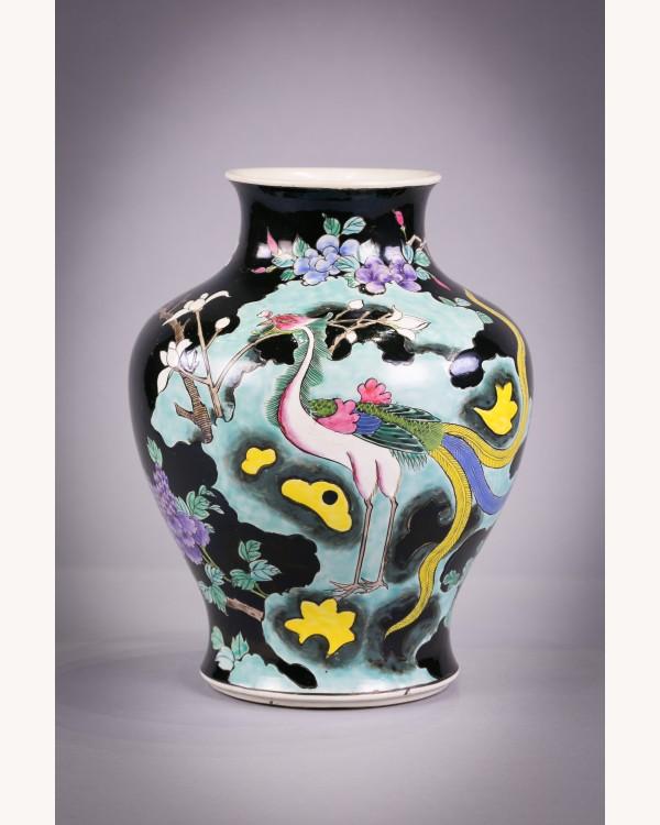 Japanese Porcelain Phoenix Bird Vase Shop