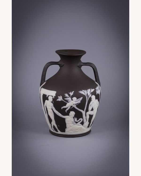 Wedgwood Black And White Portland Vase English Porcelain Shop