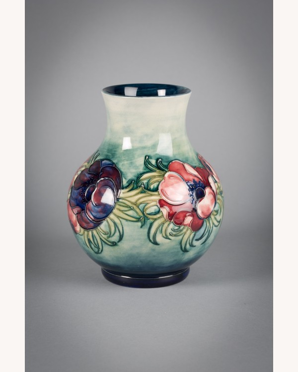 Moorcroft Poppies Vase